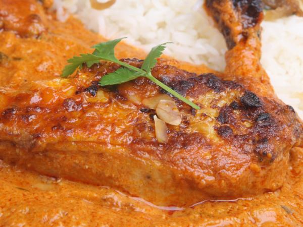 Chicken and sage masala