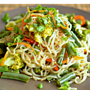 Coconut vegetable stir fry