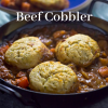Beef cobbler, family meal