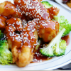 Chicken with lemon and sesame