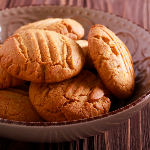 Peanut Butter Biscuits
