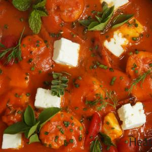 butternut, tomato feta